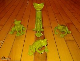 Set of Decorative Frogs