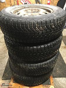 16 inch Winter Tires & Rims 215/70R16