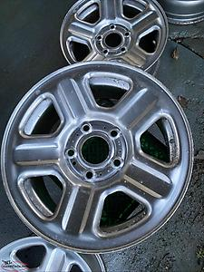 16 inch steel wheels