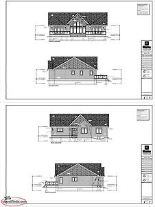 One level open concept 1900 sq ft house plans