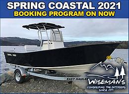 SPRING 2021 COASTAL BOAT PROGRAM!