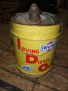 VINTAGE IRVING CAN