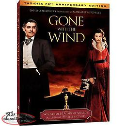 Gone With the Wind (2-DVD, 2009, 70th Anniversary Edition) NEW SEALED w slipcase
