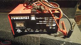 Powerfist 12v Battery Charger