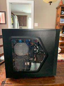 Gaming PC, Monitor, Keyboard and Mouse