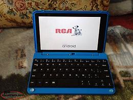 "RCA 2 in 1 Android PRO model Notebook/Tablet with 7"" screen"
