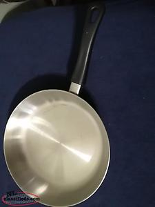 NEW STAINLESS STEEL COOKING - FRYING PAN/s
