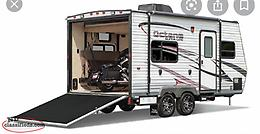 Wanted: 30ft or smaller camper trailer, toy hauler is ideal