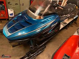Parting Out Polaris Trail 500