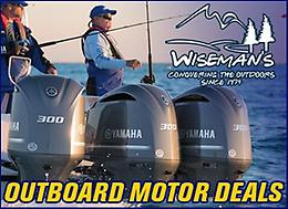 Wiseman's Yamaha Outboard SALE is on NOW!