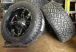 Wanted aftermarket rims and tires for F-250
