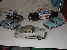 1950's and 1960's tin toy's