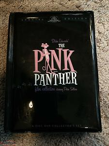 The Pink Panther Film Collection (6 DVD Set) Peter Sellers. very good condition.