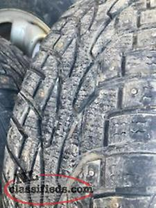 studded and all season tires