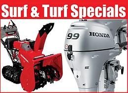 Surf and Turf Special! In-Stock Outboard Engines and Snowblowers on SALE
