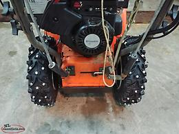 Snowblower studding