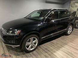 2016 Volkswagen Touareg Exec line with R line