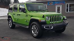 2019 Jeep Wrangler Sahara Unlimited 4X4 with the rare Selec-Trac full time 4wd