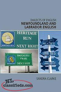 wanted book: NEWFOUNDLAND AND LABRADOR ENGLISH (DIALECTS OF ENGLISH By Sandra C