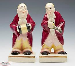 wanted 1920 ROYAL DOULTON MUSICIAN BOOKENDS