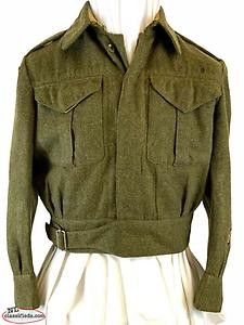 wanted WW2 British Canadian Newfoundland Royal Artillery RA Battle Dress