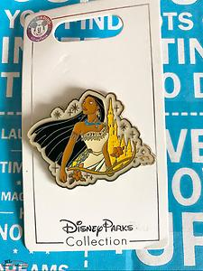 Disney Sparkle Castle - Pocahontas Pin