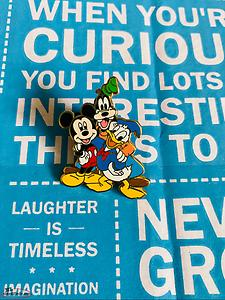 Disney Pin Donald Duck, Mickey Mouse & Goofy