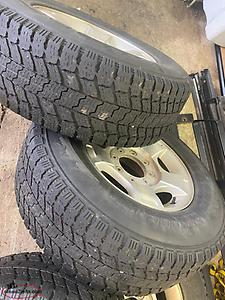 275/70R18 F-250 winter tires and rims
