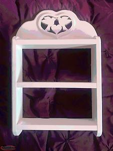 Solid Wood White shelf