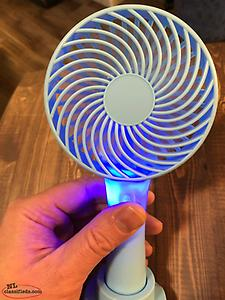 Portable powerful electric USB/ battery fan