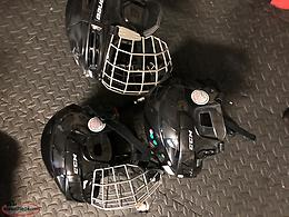 Assortment of helmets