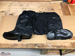 For sale 2 pairs of choko riding gear over boots rain protection.