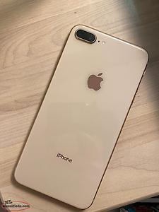 iPhone 8+ & charging case for sale