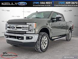 2019 Ford Super Duty F-250 SRW 4x4 SuperCrew Lariat 6.7L Diesel 6.5' box