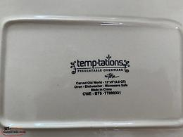 New Temptations Bakeware Carved Old World
