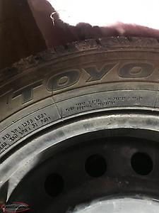 Toyo tires and rims 205/55/16