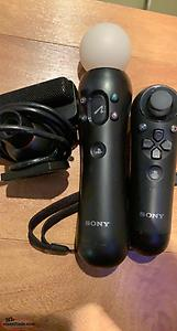 Ps3 move camera, and controllers