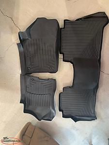 Nissan Titan Tires and weather tech mats
