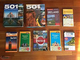 TRAVEL BOOKS-SAME AS NEW-$3 EACH OR ALL 9 FOR $20.00