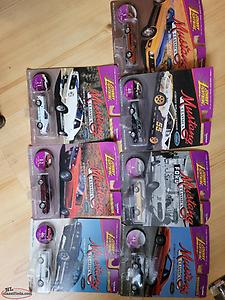 7 Johnny lightning mustang classics die cast. Selling as lot.