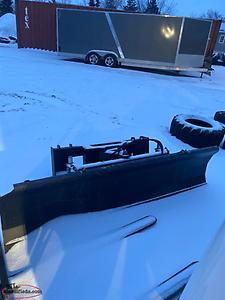 "87"" Hydraulic snow blade to fit a skid steer"