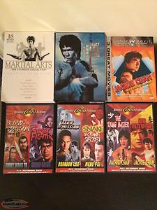 For Sale Martial Arts DVD's