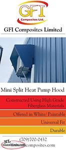 Mini Split Heat Pump Hood