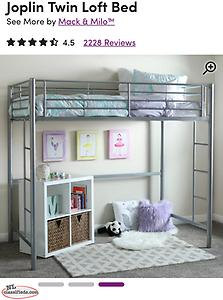 Two Loft beds (twin size) and one twin size mattress
