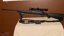 Savage Axis 223 with Scope, Adjustable Bipod and Sling