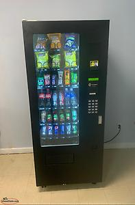 3 Combo Vending Machines