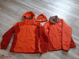North Face 3 piece jacket