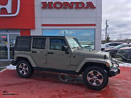 REDUCED!!! 2017 JEEP WRANGLER SAHARA 4 DOOR ONLY 65000KM