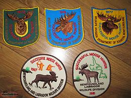 NL MOOSE PATCHES$20-$40