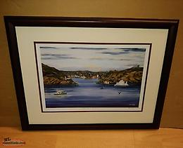 "Ben Gillard ""Gateway to St. John's"" Framed 1 of 1 Print"